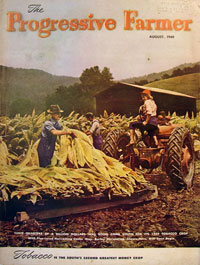 Журнал «The Progressive Farmer», август 1949