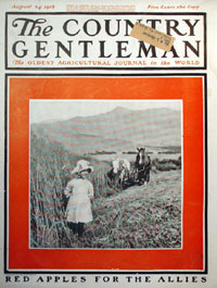Журнал «The Country Gentleman», август 1918